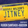 "August Wilson's play ""Jitney"" which is now on Broadway (NYC) for the first time."