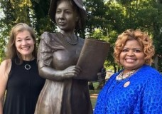 International African American Sorority on Hand to Welcome Alice Allison Dunnigan Statue Home to Russellville, KY