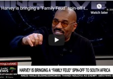 """Steve Harvey to bring a """"Family Feud"""" spin-off to South Africa"""