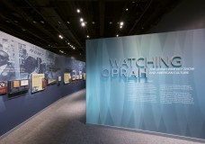 "Oprah reacts to new exhibit ""Watching Oprah"" at the Smithsonian"