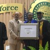 Black Veterans accept Honorary Doctorate Degree For the Legendary Colonel Charles Young from Wilberforce University in Ohio