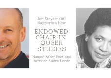 Named after activist Audre Lorde,  Spelman College announces a Chair In Queer Studies –  backed by philanthropist Jon Stryker of up to $2 million.