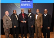 Legendary Buffalo Soldier Inducted into the Kentucky Civil Rights Hall of Fame Veterans Day Week began at the Kentucky Center for African American Heritage
