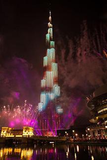 Emaar Properties Downtown Dubai New Years Eve Gala 2015